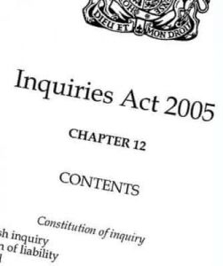 inquiries-act-2005